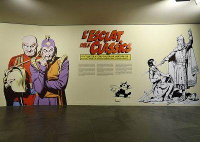 Exposición L'Esclat dels clasics en Valencia