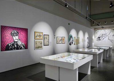 Exposición L'Esclat dels clasics en Valencia Milton Caniif