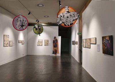 Exposición L'Esclat dels clasics en Valencia. The phantom, el principe valiente